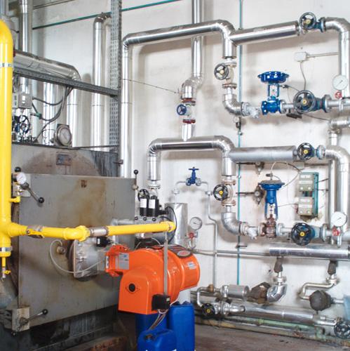 Impianto Di Riscaldamento Industriale, Realizzato Per La Pollo Ducale Di  Torre Di Mosto (Venezia ...